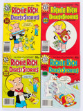 Bronze Age (1970-1979):Humor, Richie Rich Digest Stories #2-17 File Copies Long Box Group(Harvey, 1970s-80s) Condition: Average NM-....