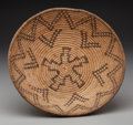 American Indian Art:Baskets, An Apache Coiled Bowl . c. 1920...