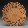 American Indian Art:Baskets, A Mission Coiled Bowl. c. 1920...