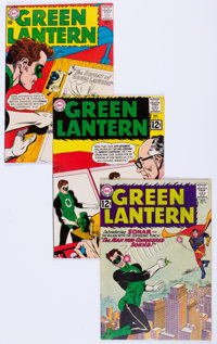 Green Lantern Group of 54 (DC, 1962-70) Condition: Average FN.... (Total: 54 Comic Books)