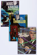 Silver Age (1956-1969):Horror, Boris Karloff Tales of Mystery/Thriller Group (Gold Key, 1962-79)Condition: Average FN/VF.... (Total: 56 Comic Books)
