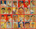 Baseball Cards:Singles (1930-1939), 1935 R321 Goudey 4-In-1 Uncut Panel With Babe Ruth plus Nine Other HoFers! ...