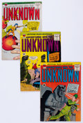 Silver Age (1956-1969):Horror, Adventures Into The Unknown Group of 43 (ACG, 1960-67) Condition:Average VG+.... (Total: 43 Comic Books)