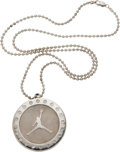 Basketball Collectibles:Others, 2005 Michael Jordan Air Jordan Charm Necklace - Never Issued toPublic & Only Given to Team Jordan Athletes....