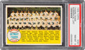 Baseball Cards:Singles (1950-1959), 1958 Topps Detroit Tigers Team Numerical #397 PSA NM-MT 8....