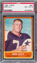 Football Cards:Singles (1960-1969), 1963 Topps Bob Lilly #82 PSA NM-MT 8....