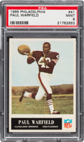 Football Cards:Singles (1960-1969), 1965 Philadelphia Paul Warfield #41 PSA Mint 9....