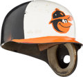Baseball Collectibles:Uniforms, Early 1970's Baltimore Orioles Personally Customized Batting Helmet from The Brooks Robinson Collection....