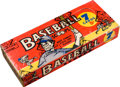 "Baseball Cards:Unopened Packs/Display Boxes, 1961 Nu-Cards ""Baseball Scoops"" Unopened 5-Cent Box. ..."