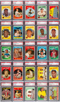 Baseball Cards:Singles (1950-1959), 1959 Topps Baseball High Grade Complete Set (572) - #29 on the PSASet Registry....