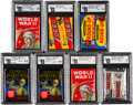 Non-Sport Cards:Unopened Packs/Display Boxes, 1950's - 1970's Non-Sports Unopened Wax Packs Collection (7). ...