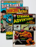 Silver Age (1956-1969):Superhero, DC Silver to Copper Box Group (DC, 1960s-80s) Condition: AverageVG.... (Total: 2 Items)