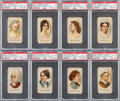"Non-Sport Cards:Sets, 1889 N353 Consolidated Cigarettes ""Ladies of The White House""Complete Set (25). ..."
