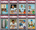 Baseball Cards:Lots, 1968 Topps Baseball PSA Mint 9 Collection (88 Different). ...
