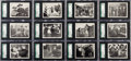 Non-Sport Cards:Sets, 1937 Universal Wild West Days Complete Set (12) - #1 on the SGCRegistry. ...