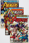 Modern Age (1980-Present):Superhero, The Avengers #204-208 Long Box Group (Marvel, 1981) Condition:Average NM-....