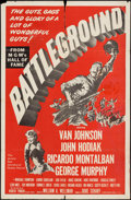 """Movie Posters:War, Battleground & Other Lot (MGM, R-1954). One Sheets (2) (27"""" X 41""""). War.. ... (Total: 2 Items)"""