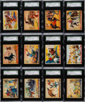 Non-Sport Cards:Sets, 1937 R172 Gum Inc. Wild West Series Near Set (48/49) - #1 on TheSGC Registry. ...
