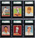 Baseball Cards:Lots, 1933 Goudey SGC 86 NM+ 7.5 Graded Collection (6). ...