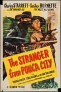 "Movie Posters:Western, The Stranger from Ponca City & Other Lot (Columbia, 1947). One Sheets (2) (27"" X 41""). Western.. ... (Total: 2 Items)"