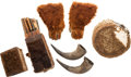 Edged Weapons:Other Edged Weapons, Buffalo Hide Grouping. ...