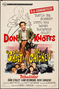 """The Ghost and Mr. Chicken (Universal, 1966). Poster (40"""" X 60""""). Comedy"""