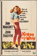 "Movie Posters:Bad Girl, Kitten with a Whip (Universal, 1964). Poster (40"" X 60"") Style Z.Bad Girl.. ..."