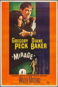 """Mirage (Universal, 1965). Poster (40"""" X 60"""") Style Y. Mystery"""