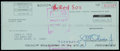 Baseball Collectibles:Others, 1982 Jim Rice Signed Boston Red Sox Paycheck....