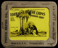 """Movie Posters:Adventure, Lorraine of the Lions (Universal, 1925). Glass Slide (3.25"""" X 4"""").Adventure. Directed by Edward Sedgwick. Starring Norman K..."""