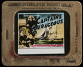 "Movie Posters:Adventure, Captains Courageous (MGM, 1937). Glass Slide (3.25"" X 4"").Adventure. Directed by Victor Fleming. Starring Spencer Tracy,Fr..."