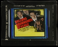 "Bulldog Drummond's Revenge (Paramount, 1937). Glass Slide (3.25"" X 4""). Mystery. Directed by Louis King. Starr..."