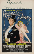 """Movie Posters:Comedy, Skinner's Dress Suit (Universal, 1926). Window Card (14"""" X 22"""").Reginald Denny, under pressure from his wife Honey (Laura L..."""