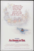 "Movie Posters:Animated, An American Tail (Universal, 1986). One Sheet (27"" X 41""). Style B.""Secret of NIMH"" director Don Bluth guides this delightf..."