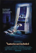 """Movie Posters:Fantasy, Batteries not included (Universal, 1987). One Sheet (27"""" X 41""""). Residents (Hume Cronyn and Jessica Tandy) of a run down apa..."""