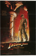 "Movie Posters:Adventure, Indiana Jones and the Temple of Doom (Paramount, 1984). One Sheet(27"" X 41""). Harrison Ford is back in this prequel to ""Rai..."