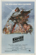 "Movie Posters:Science Fiction, The Empire Strikes Back (20th Century Fox, 1980). One Sheet (27"" X41"") Style B. In this sequel to ""Star Wars,"" the Empire h..."
