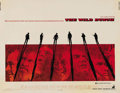 "Movie Posters:Western, The Wild Bunch (Warner Brothers, 1969). Half Sheet (22"" X 28""). Sam Peckinpah's lasting masterpiece to the cinema was also o..."