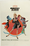 "Movie Posters:Action, Modesty Blaise (20th Century Fox, 1966). One Sheet (27"" X 41"").Monica Vitti is mod secret agent Modesty Blaise. Blaise and ..."