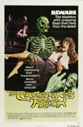 "Movie Posters:Horror, The Creeping Flesh (Columbia, 1973). One Sheet (27"" X 41""). Scientist Peter Cushing comes back from New Guinea with an unusu..."