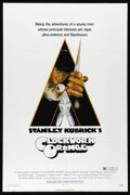 "Movie Posters:Drama, A Clockwork Orange (Warner Brothers, 1971). One Sheet (27"" X 41""). Stanley Kubrick's masterpiece about a charming young psyc..."