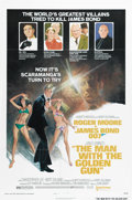 "Movie Posters:Action, The Man With the Golden Gun (United Artists, 1974). One Sheet (27""X 41"") Style B. British Intelligence has received a threa..."