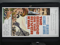 "The Bridge On The River Kwai (Columbia, R-1963). Three Sheet (41"" X 81""). War Drama. Directed by David Lean. S..."