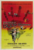 "Movie Posters:Science Fiction, Invasion of the Body Snatchers (Allied Artists, 1956). One Sheet(27"" X 41""). Classic science fiction film, with an invasion..."