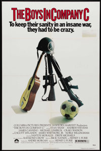 """The Boys in Company C (Columbia, 1978). One Sheet (27"""" X 41""""). Nice poster for Viet Nam war movie starring Sta..."""