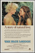 "Movie Posters:Adventure, The Blue Lagoon (Columbia, 1980). One Sheet (27"" X 41""). Twochildren are shipwrecked on a tropical island along with their ..."