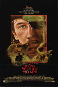 "Movie Posters:Adventure, Young Sherlock Holmes (Paramount, 1985). One Sheet (27"" X 41""). Intheir boarding school days, Sherlock Holmes and John Wats..."