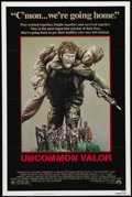 "Movie Posters:Action, Uncommon Valor (Paramount, 1983). One Sheet (27"" X 41""). GeneHackman plays a retired army colonel who gathers a group of Ma..."