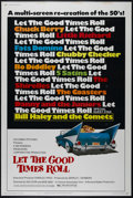 """Movie Posters:Documentary, Let the Good Times Roll (Columbia, 1973). Poster (40"""" X 60""""). Documentary. Directed by Robert Abel and Sid Levin. Starring C..."""