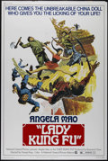 """Movie Posters:Action, Lady Kung Fu (National General, 1973). Poster (40"""" X 60""""). Martial Arts. Directed by Feng Huang. Starring Angela Mao, Carter..."""